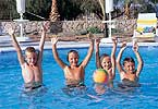 Acapulco Hotel Pool Children Playing